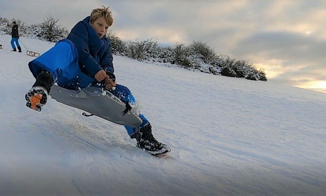 A perfect day – Schnee und Schlitten in der Eifel